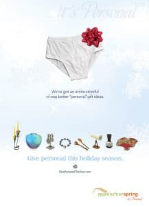 Give Personal This Year Ad Campaign