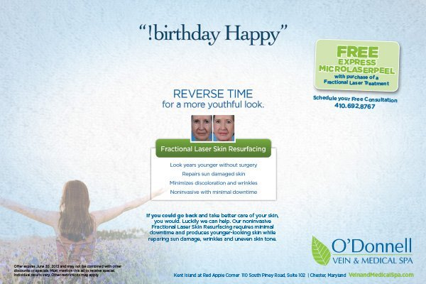 O'Donnell Medical Spa Reverse Time Ad Campaign