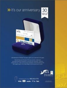Visa and ICBA ad