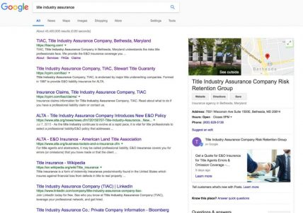 Example of Google My Business listing with What's New post