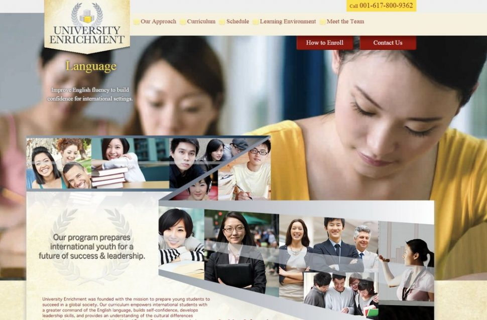 University Enrichment Website