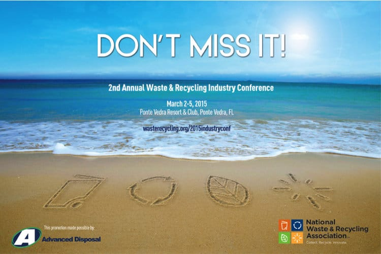 Ad for National Waste and Recycling Association