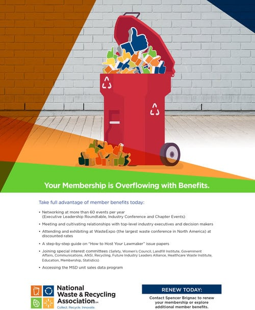 National Waste Recycling Association Supplier Flyer