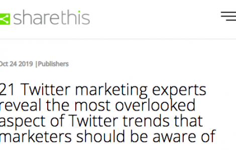 Insights on Twitter Trends