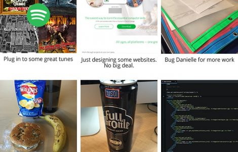 day in the life of a web designer